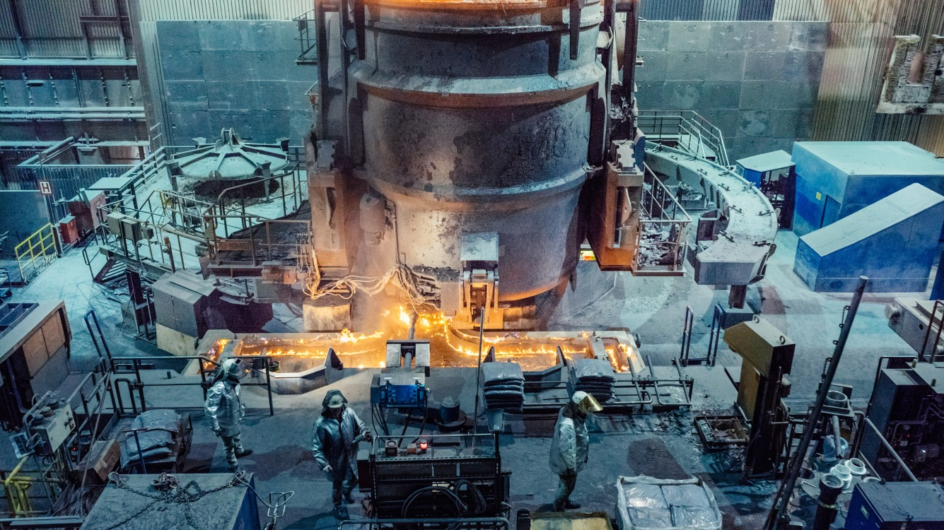 A new way of dealing with steel mill gases