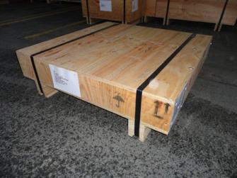 Casse di legno compensato