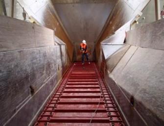 Schwenk Zement - modernization of apron feed conveyor