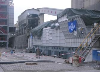 Kiln cooler modernization for Schwenk Zement
