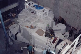 Installation of separator - Zementwerk Hatschek