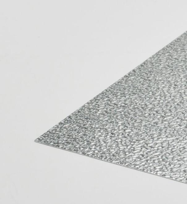 Stucco - aluminium sheet