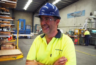 David Simianam, Quality and Inventory Controller, thyssenkrupp Materials Australia