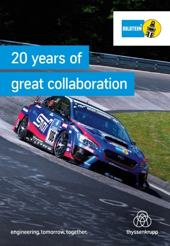20 years ago, BILSTEIN shock absorbers first became an official extra for the Legacy