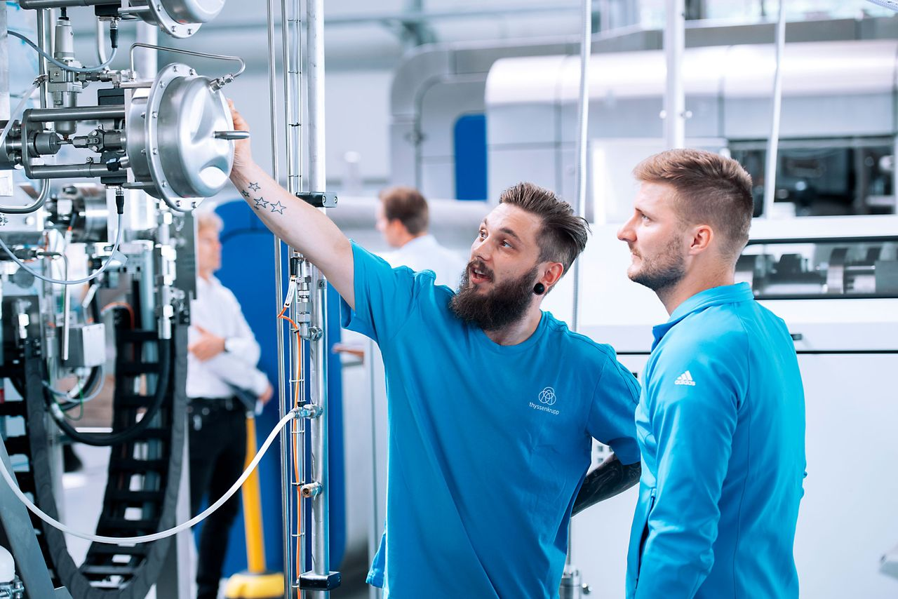 thyssenkrupp helps you get started.