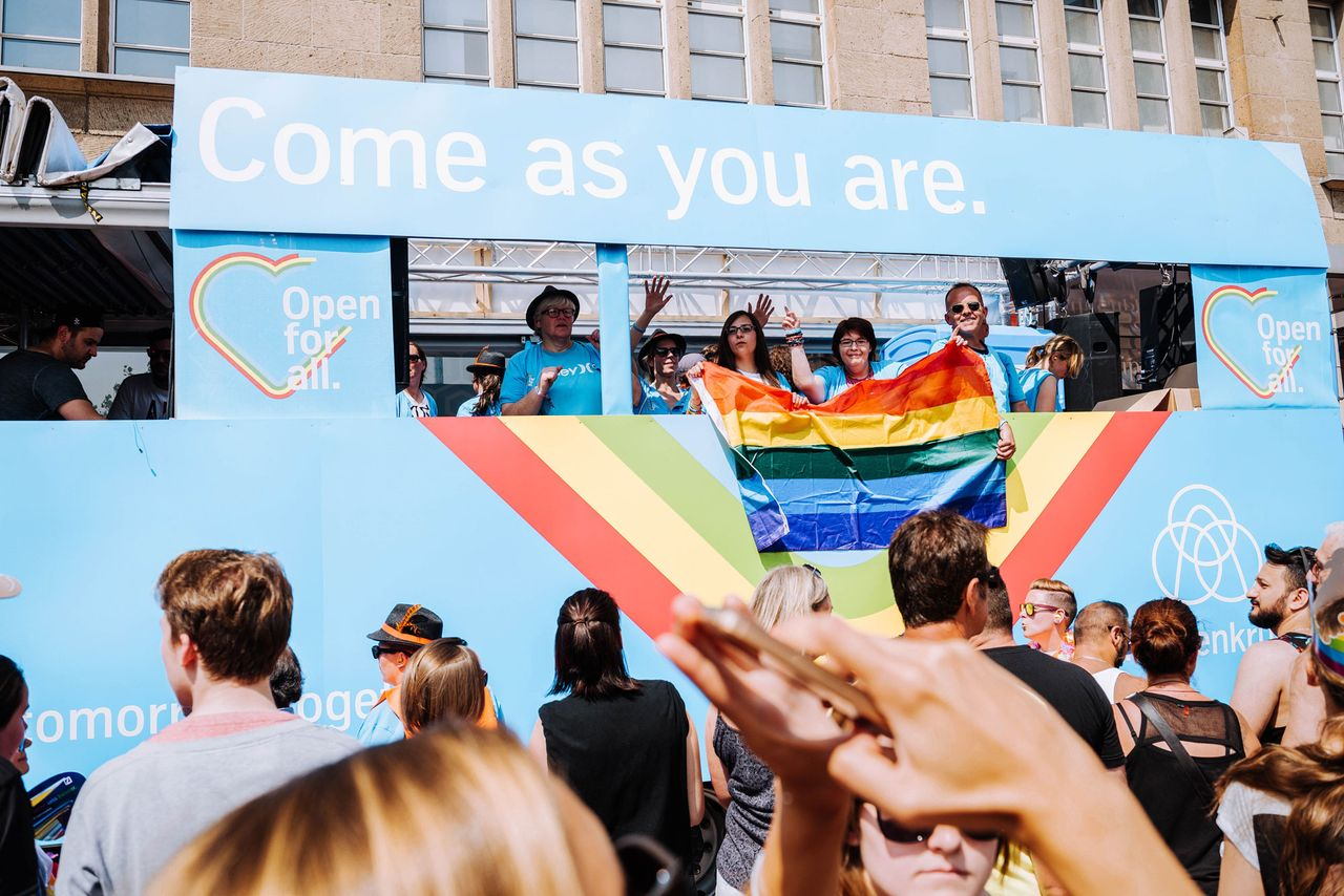 thyssenkrupp supports LGBTI employees.