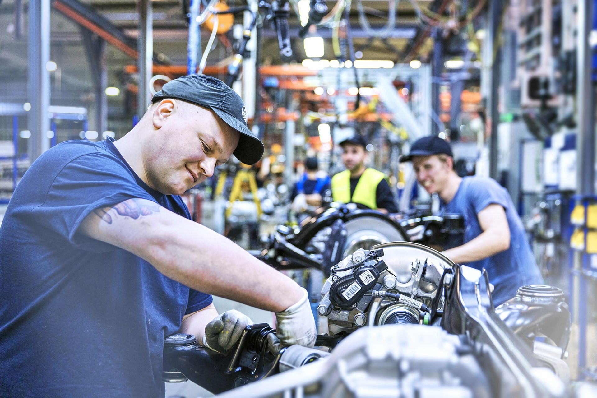 thyssenkrupp offers automotive jobs.