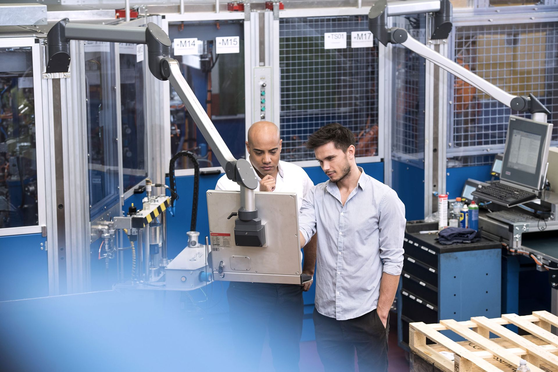 Rewarding jobs and areas of work for engineers at thyssenkrupp