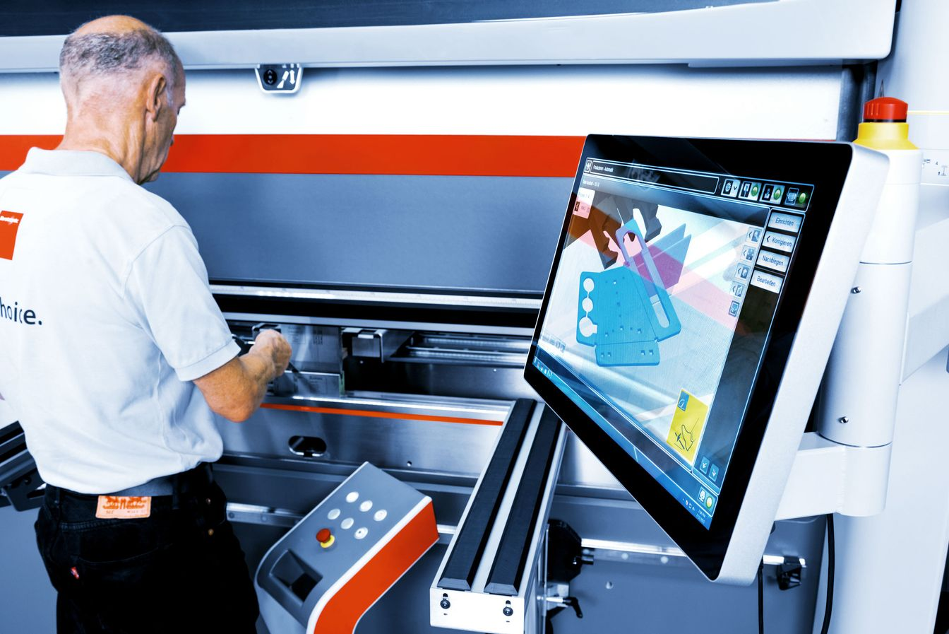 Sheet laser cutting