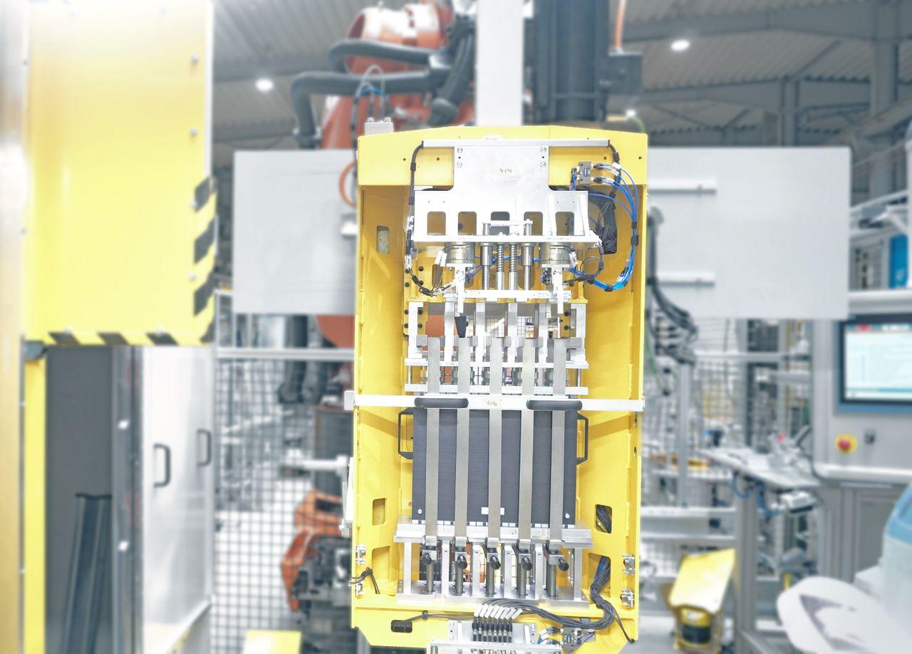 Pressen Brennstoffzelle