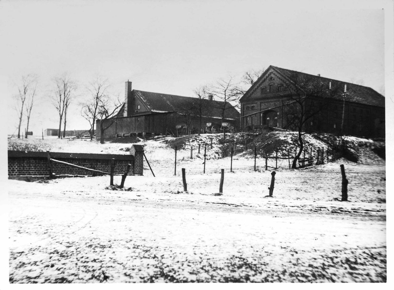 The barn where Uhde started his business