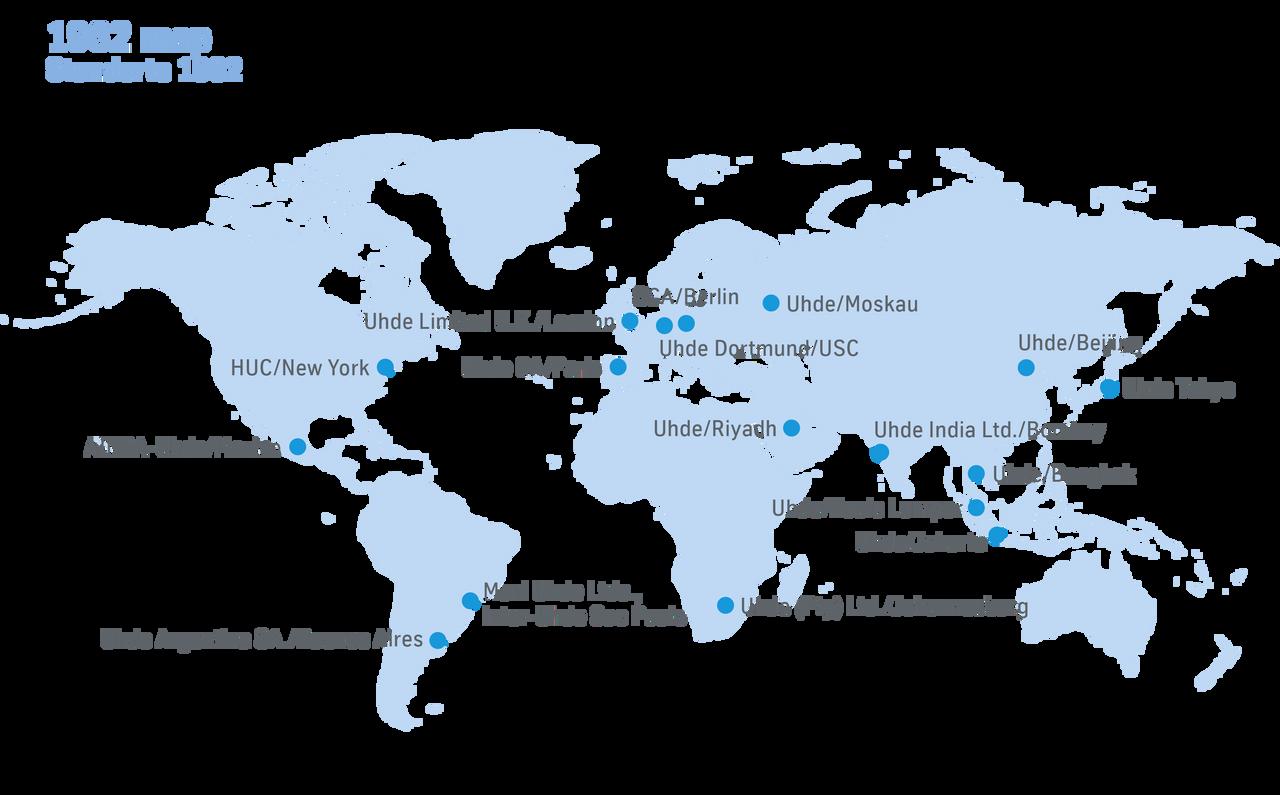 thyssenkrupp Uhde locations 1982