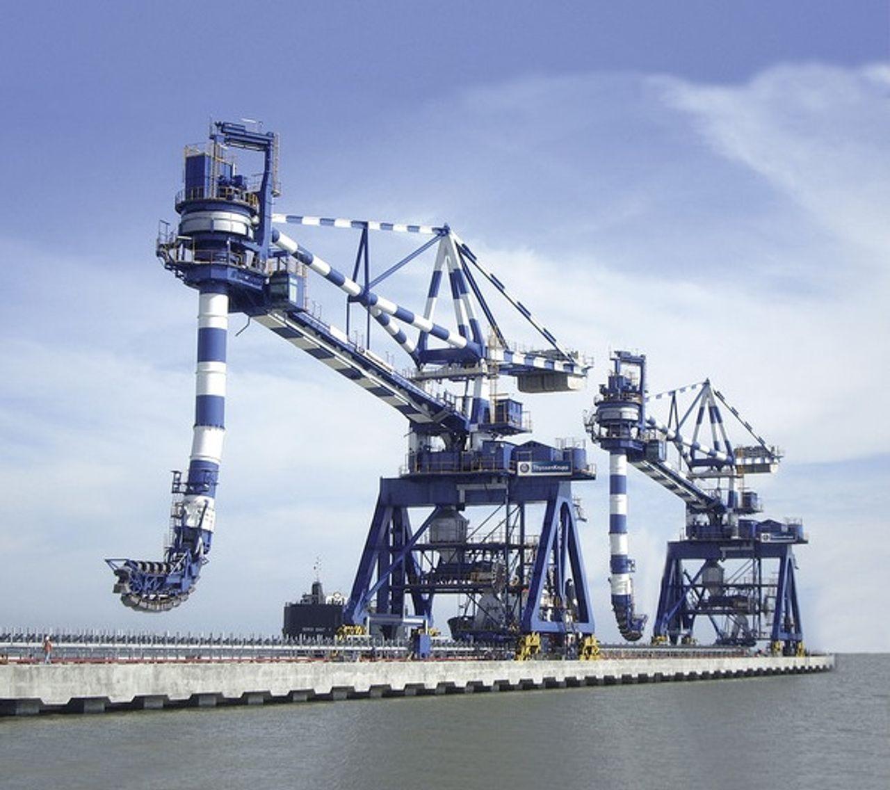 ship unloader I thyssenkrupp
