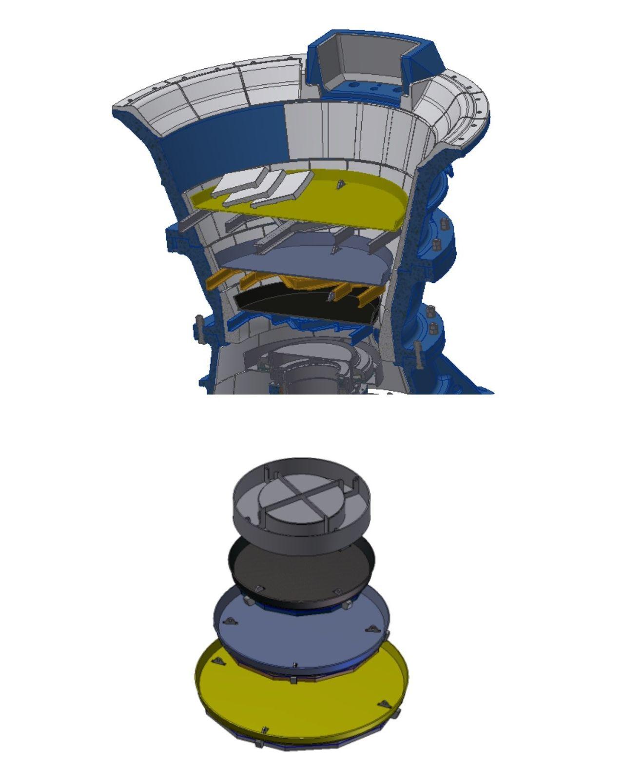 Dismantling Device: Advanced concave change out