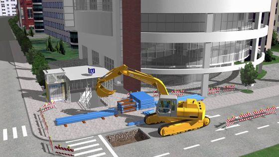 Video thyssenkrupp Infrastructure e+s linear shoring