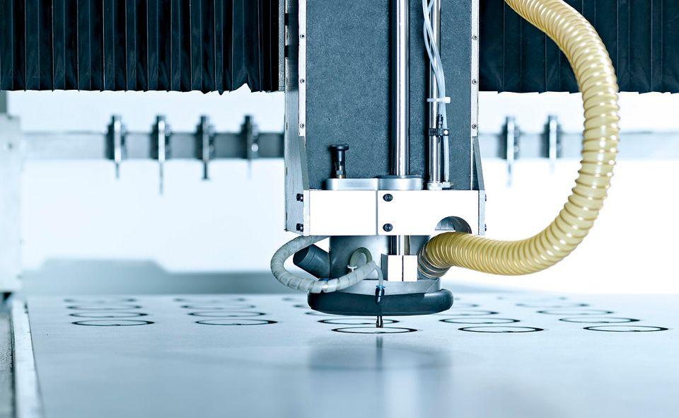Verarbeitungsleistungen - CNC-Fräsen