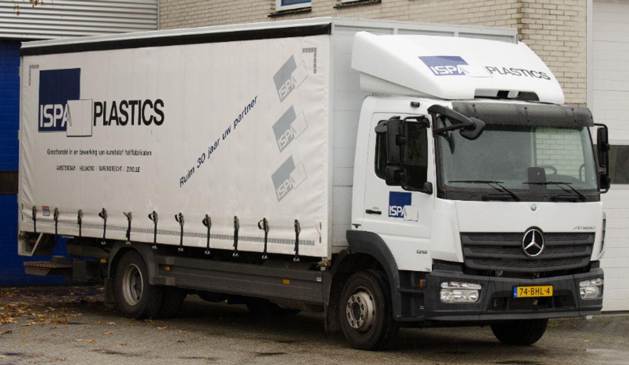 Vrachtwagen Ispa Plastics