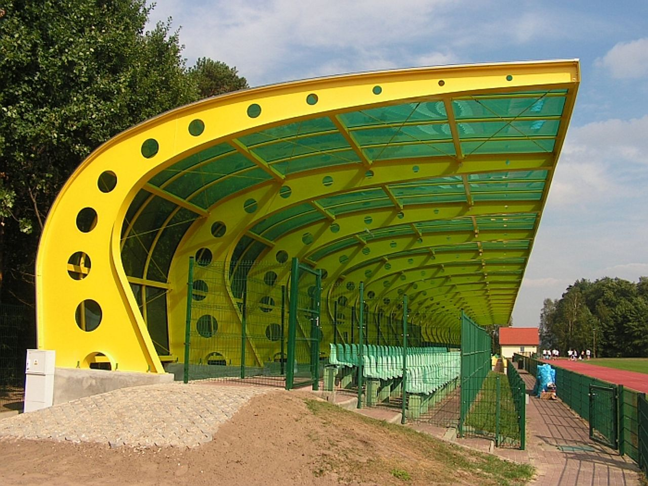 Modernizacja stadionu LKS OMEGA Kleszczów