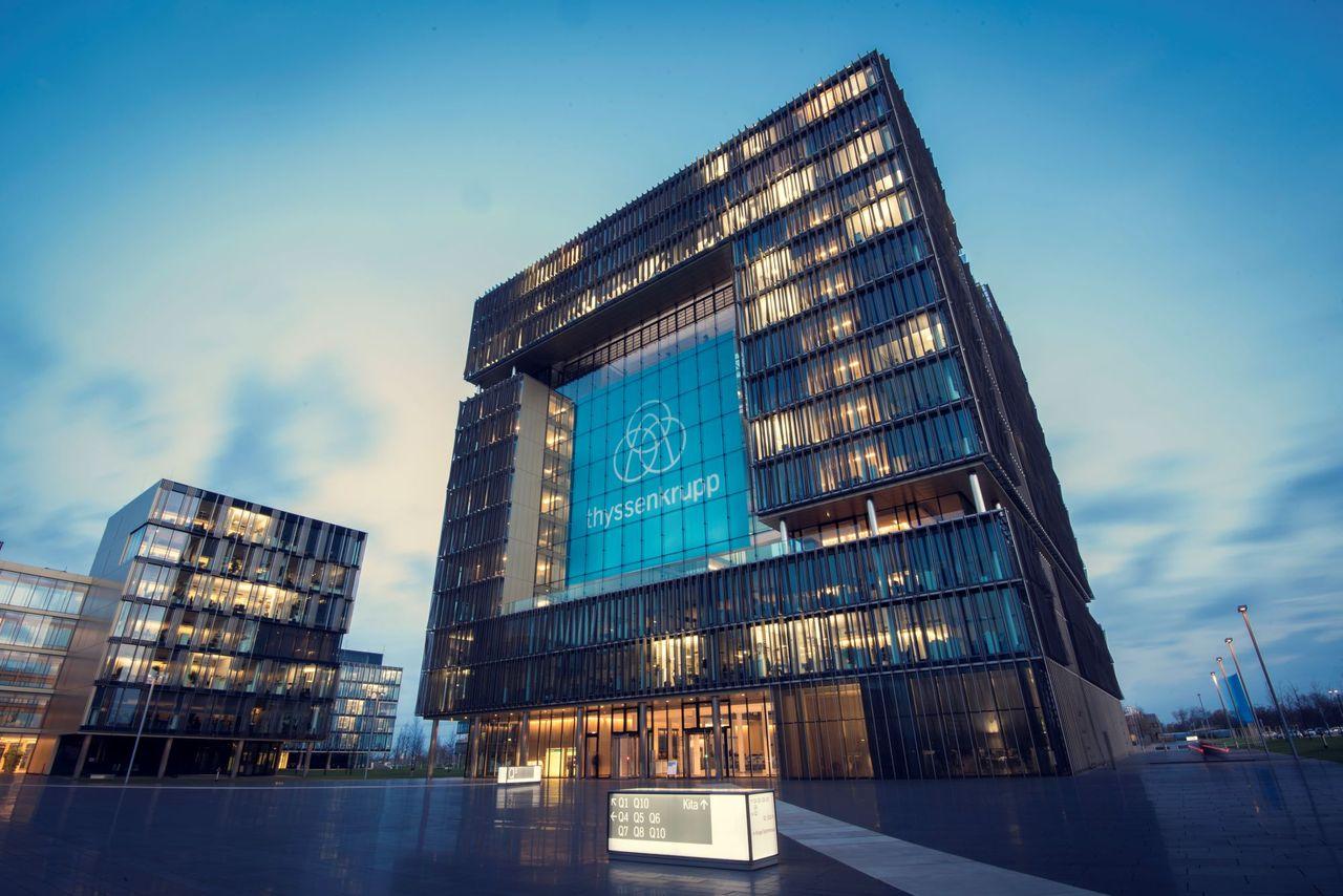 thyssenkrupp head office Essen