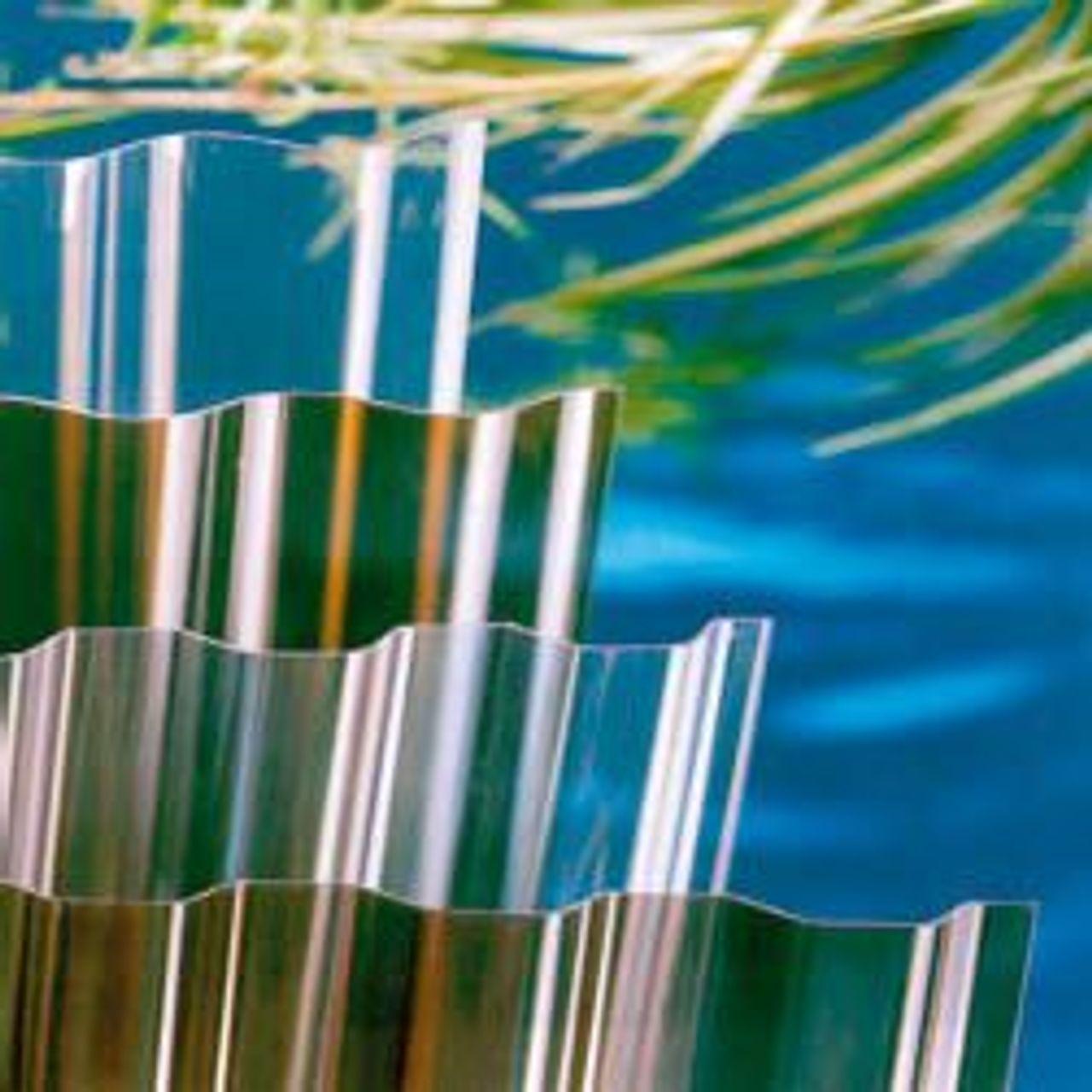 Afbeelding plaques ondulées en PVC