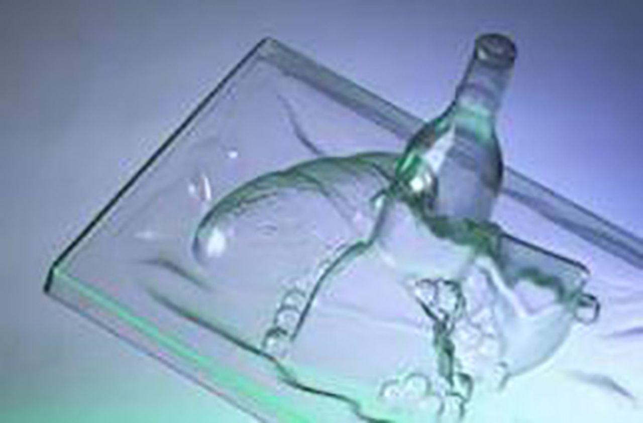Afbeelding PET-G kunststof plaat
