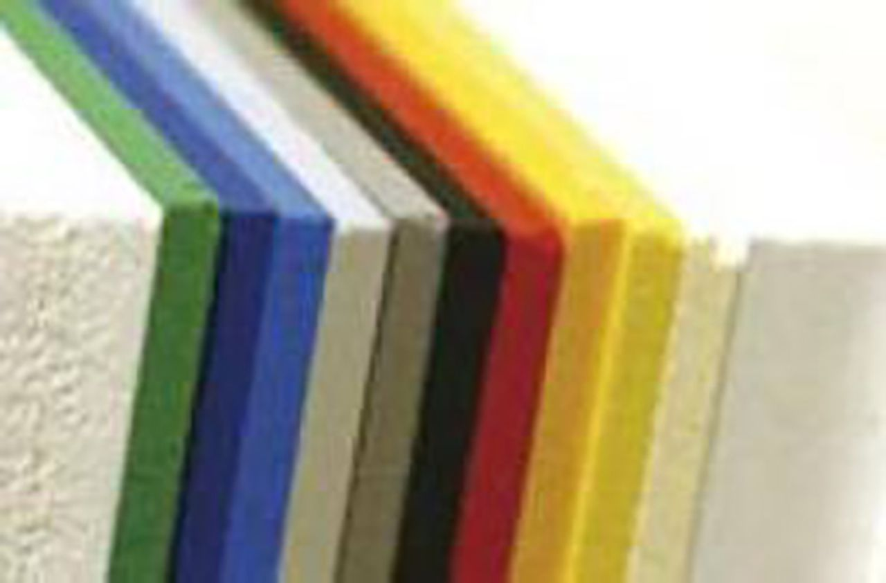 Afbeelding PVC-U geschuimde plaat
