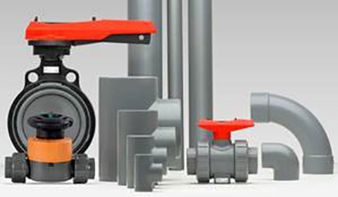 Image canalisations industrielles PVC-U