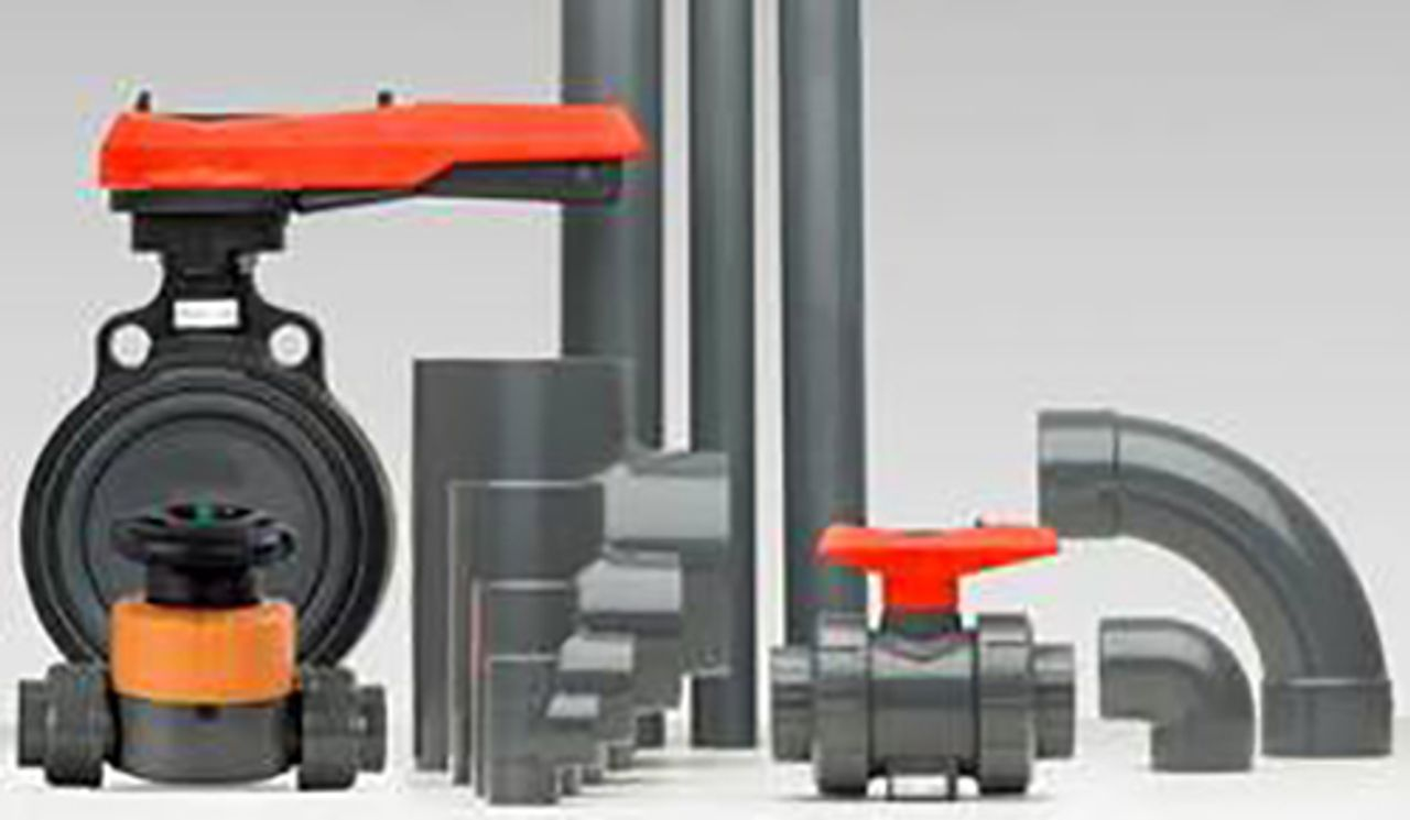 Afbeelding PVC-U industriële leidingsystemen