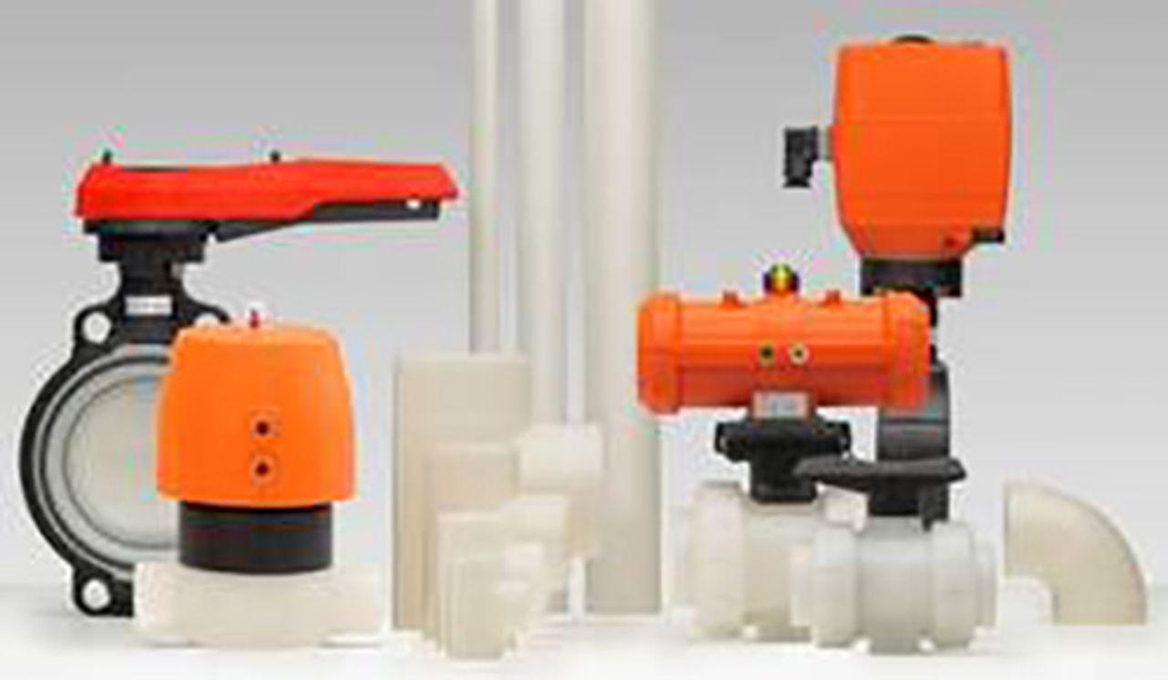 Afbeelding PVDF industriële leidingsystemen