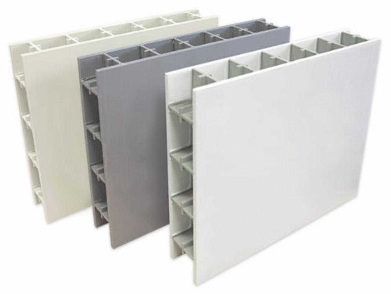 PP CubX® kunststof constructie plaat