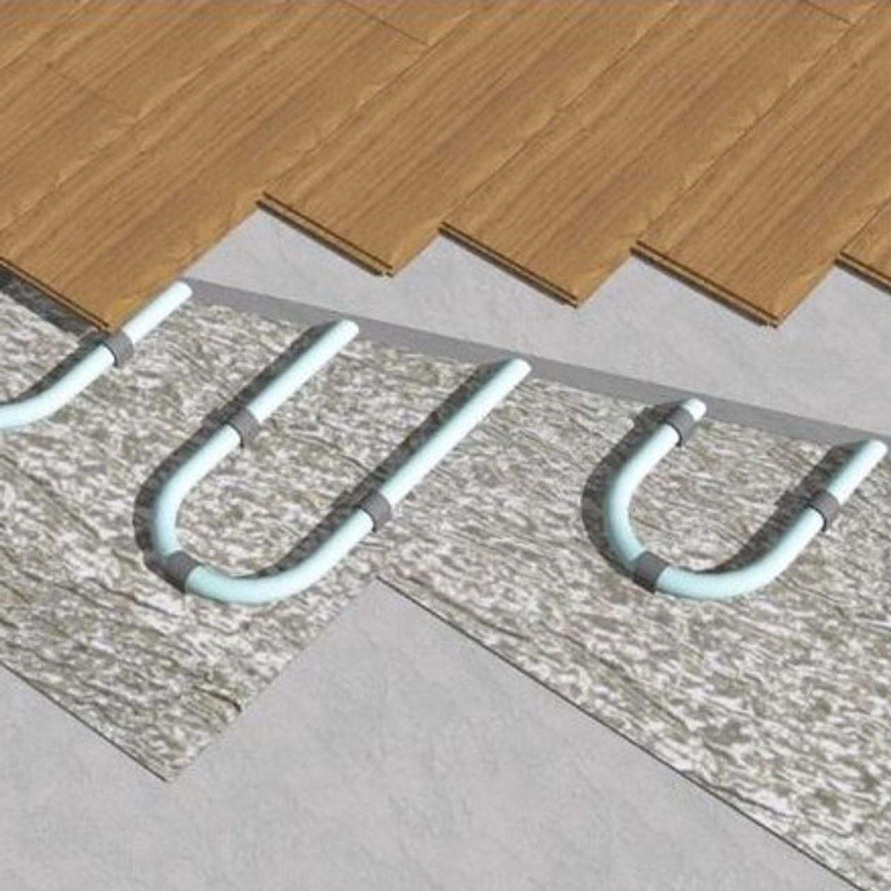 YBS FoilFloor, voor een hoge thermische geleiding in combinatie met vloerverwarming