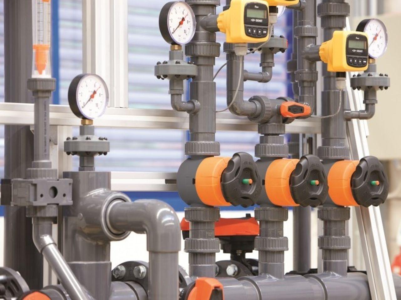 PVC-U industriële druk leiding systemen