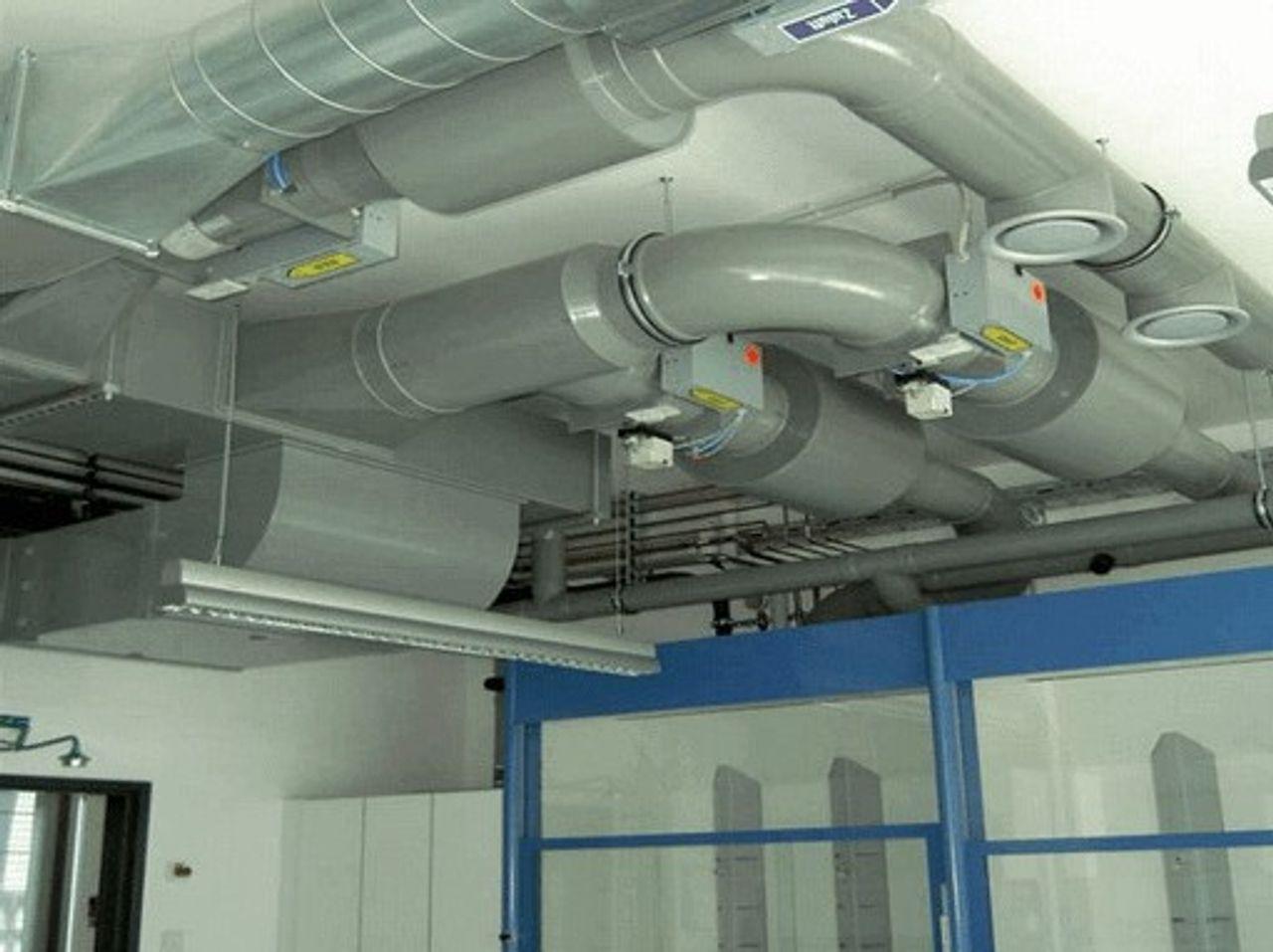 PPs kunststof ventilatie leidingsystemen