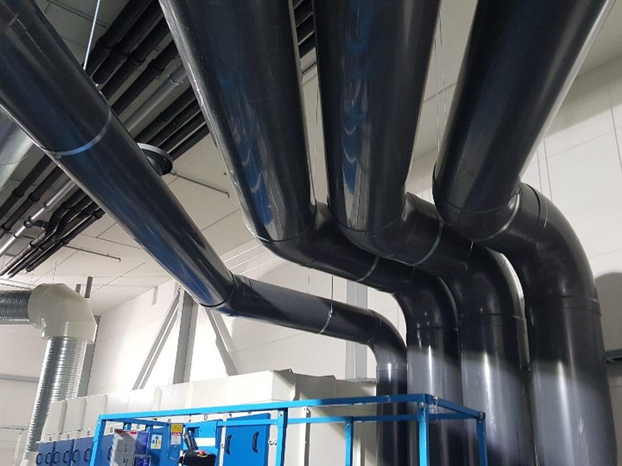 PVC-U kunststof ventilatie leidingsystemen