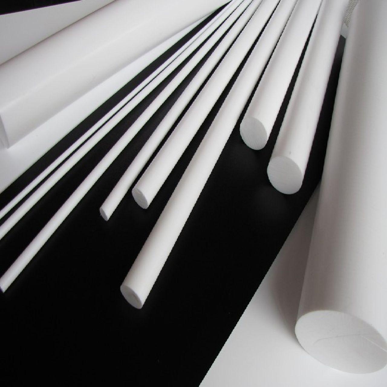 PTFE (Polytetrafluorethyleen) kunststof platen en staf materialen