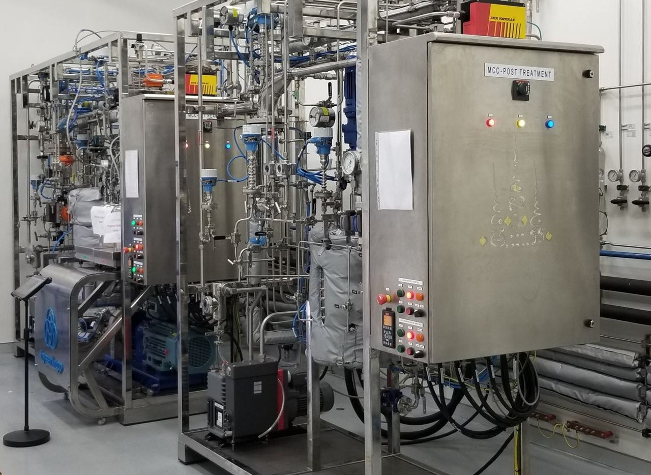 Jet Reactor, Post Treatment and Wiped Film Evaporator Pilot Plants at thyssenkrupp R&D Centre